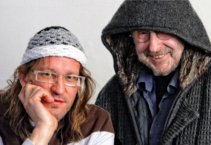 Ein Foto von Marcus Jeroch und Friedhelm Kändler